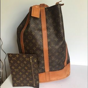 Authentic Louis Vuitton Randomness GM with wallet
